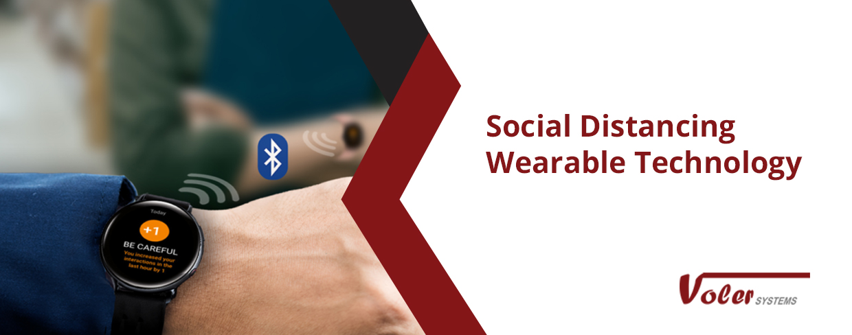 Social Distancing Wearable Technology-Web Banner