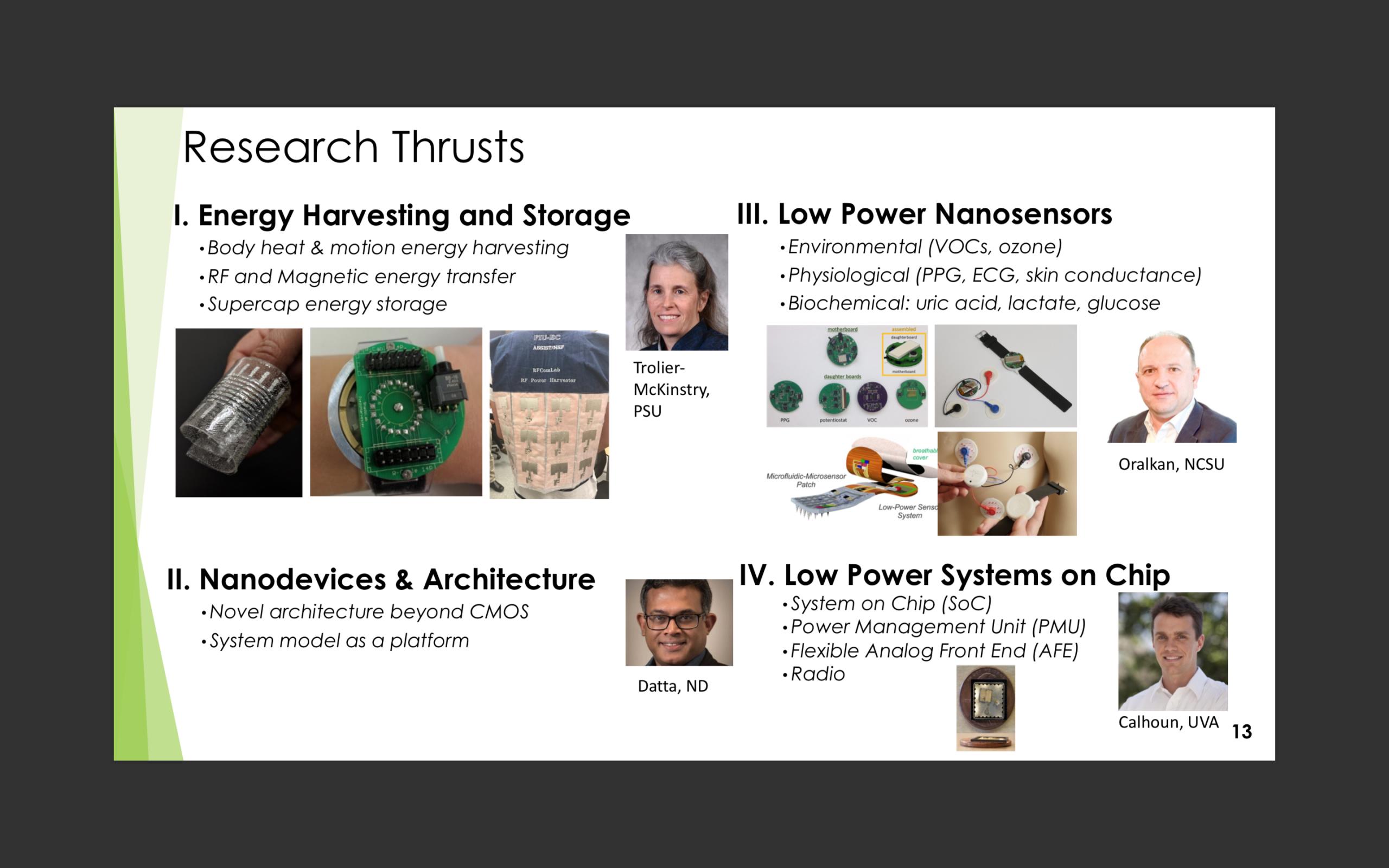 Research Thrust