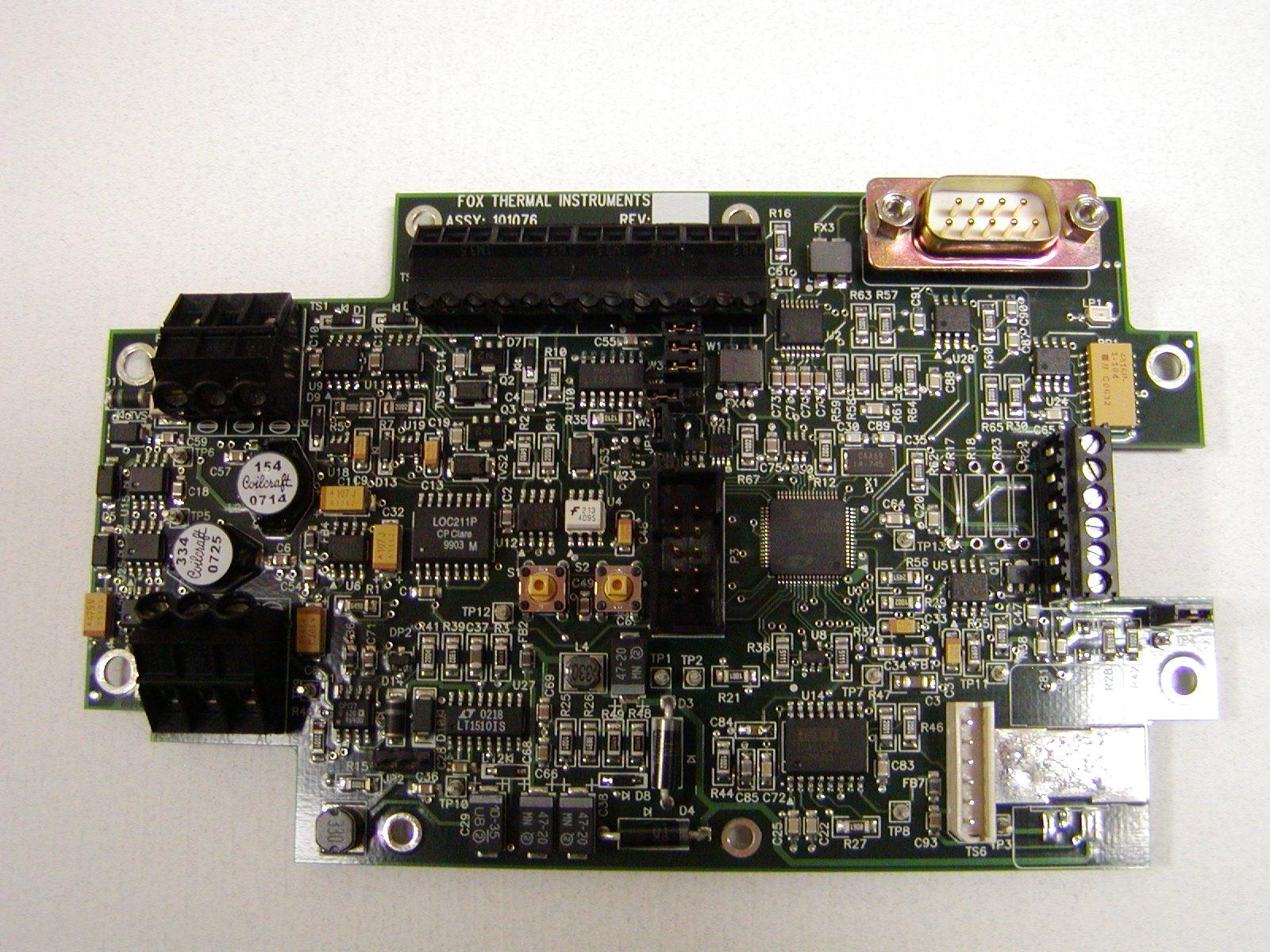 Mass flow sensor